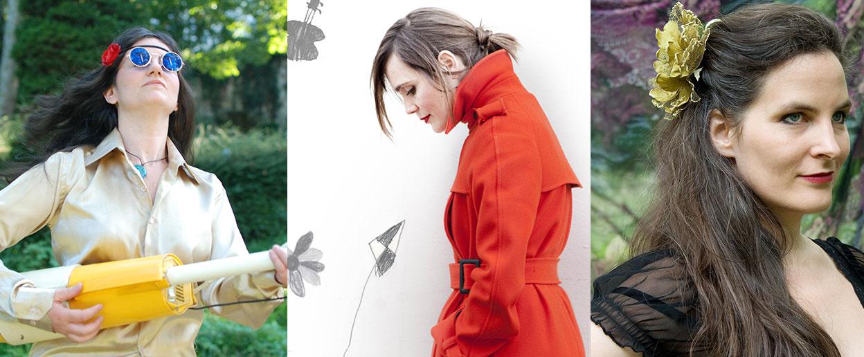 Kelka, Livane & Hélène Juren sont en concert à la Scène du Canal le mardi 19 janvier à 20h